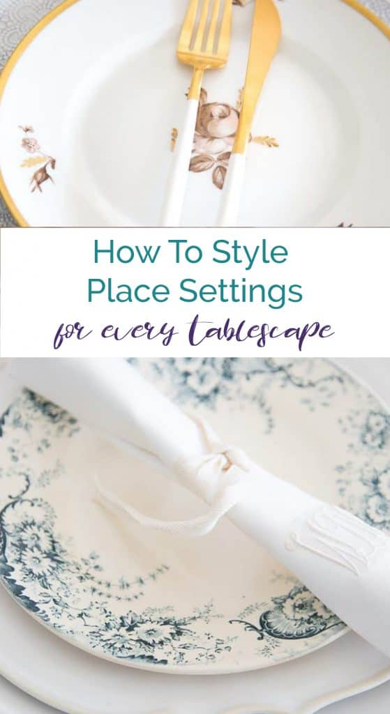 How To Style Place Settings