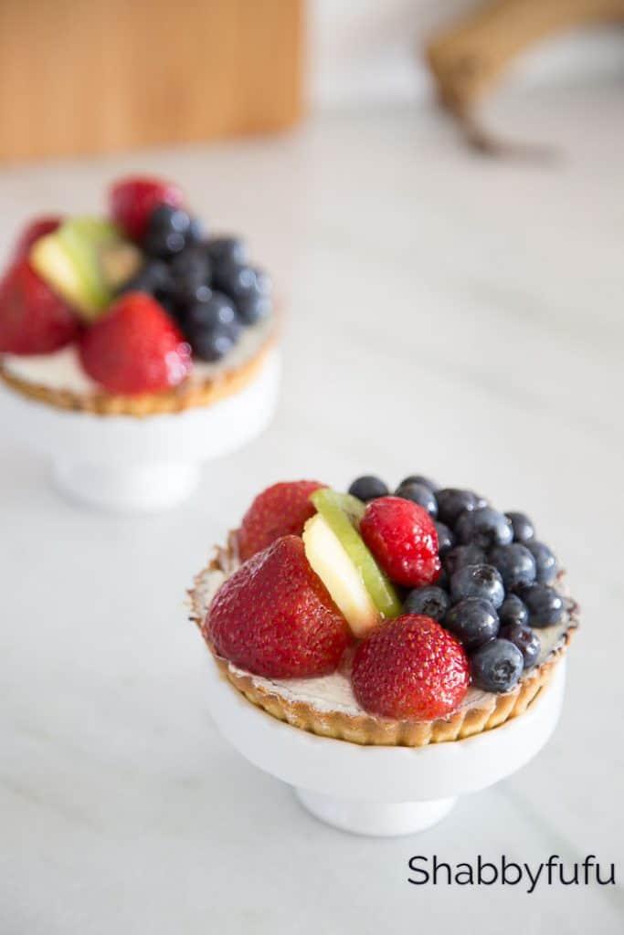fruit tart shabbyfufu