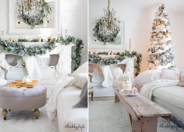 pink christmas room - Pink Christmas Tree Decorations