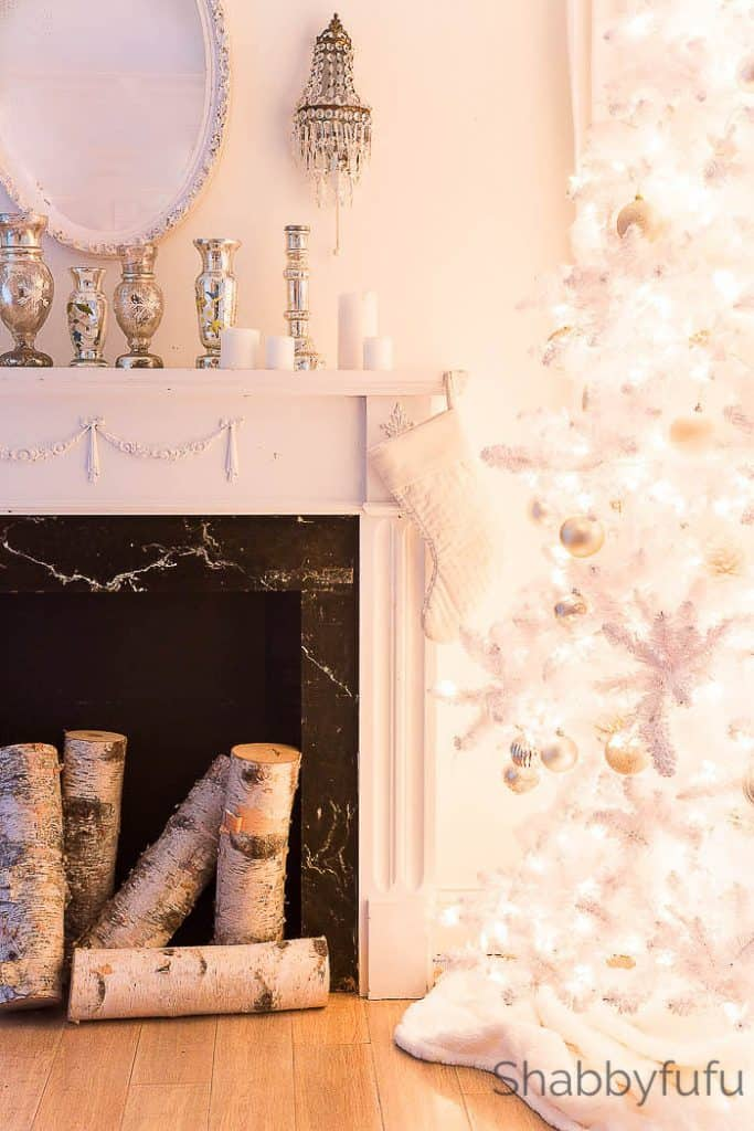 secrets and tips for decorating white christmas trees - Decorated Flocked Christmas Trees