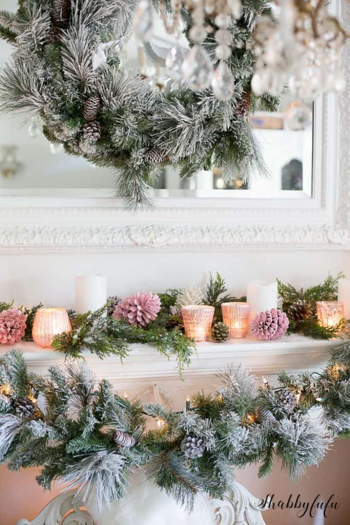 blush pink christmas decorations - Blush Christmas Decorations