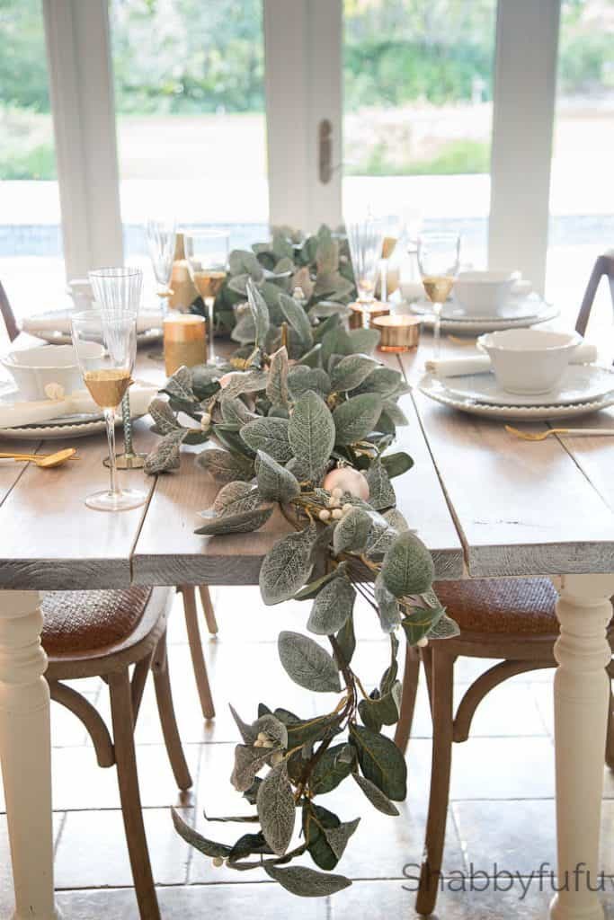 magnolia christmas garland shabbyfufu