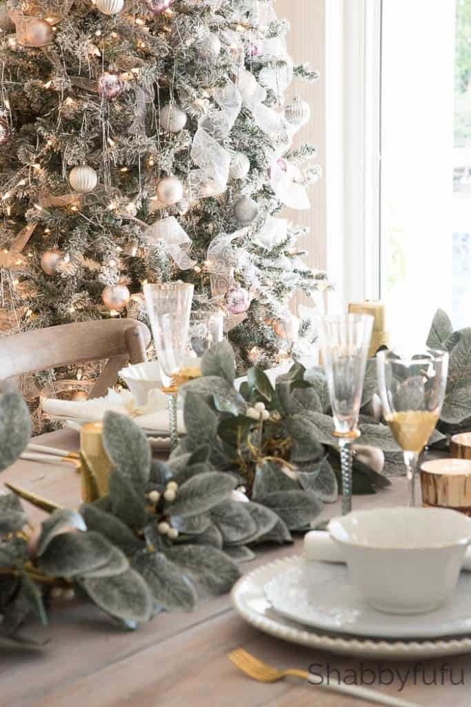 elegant christmas fake tree - Elegant Christmas Decorating Ideas