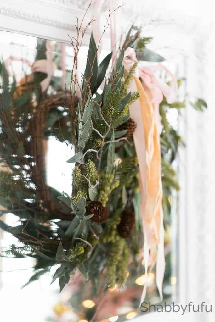 handmade-christmas-wreath-silk-ribbon