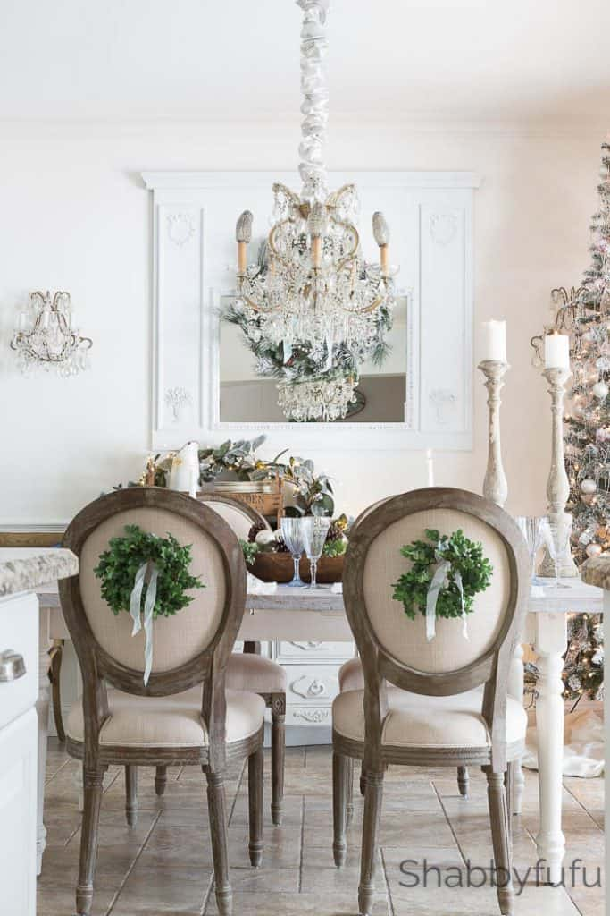elegant french country farmhouse christmas