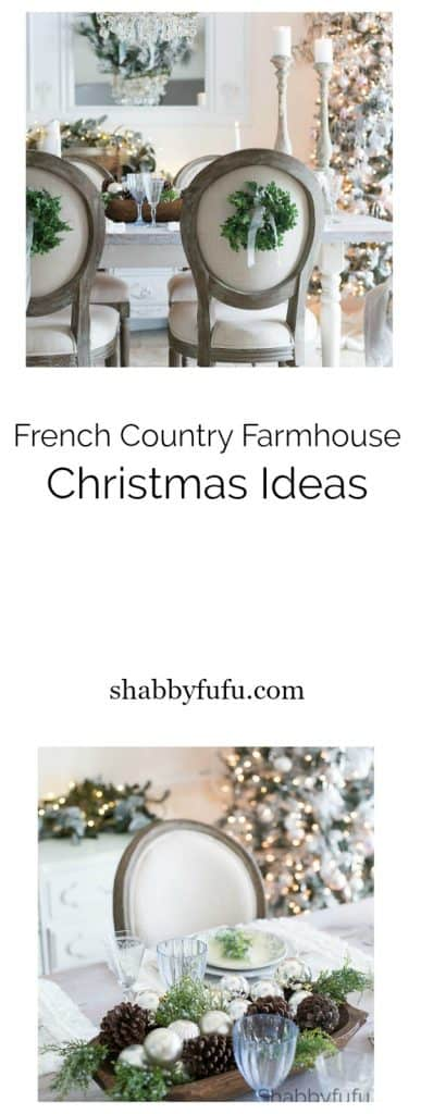 French Country Farmhouse Christmas - Style In Blue-shabbyfufu