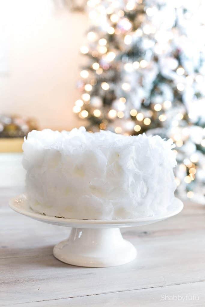 white display cake wedding bridal shower