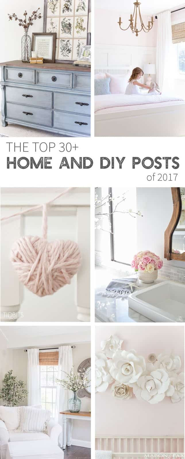 Top Ten Home Decorating and DIY Posts for 2018-shabbyfufu