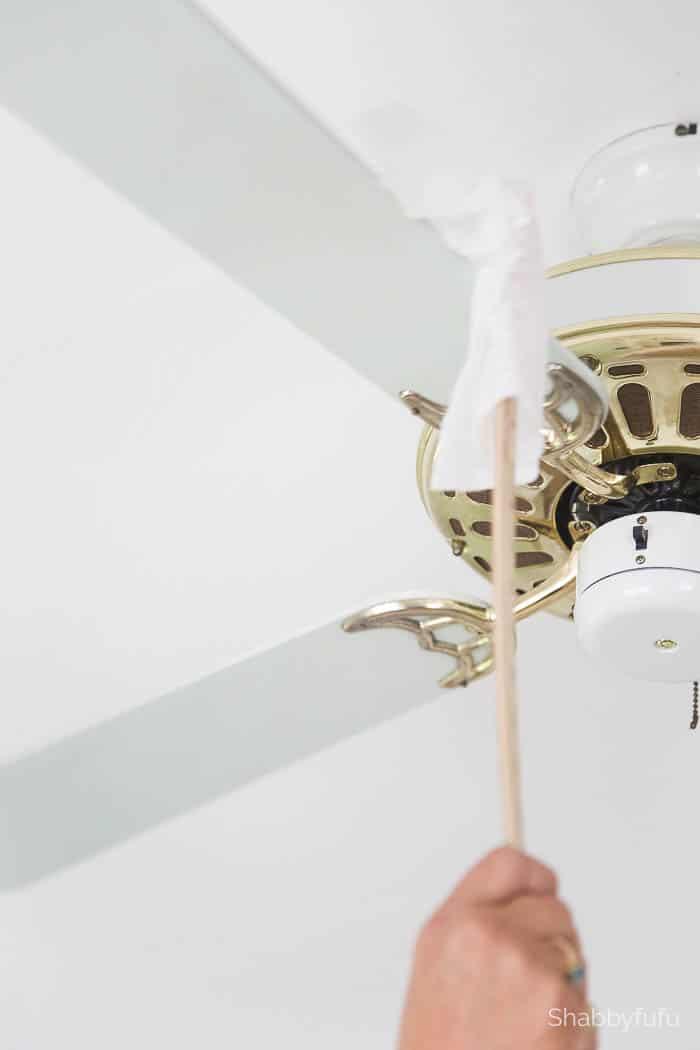 gold hunter ceiling fan