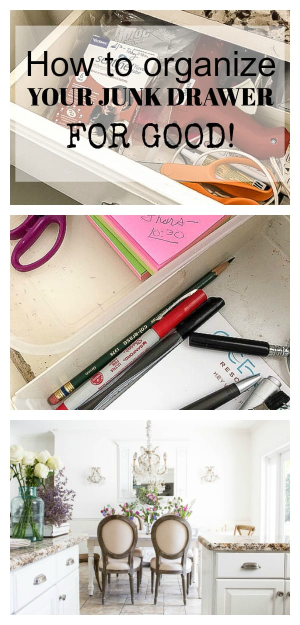 7 Steps to Organize the Junk Drawer for Good - shabbyfufu