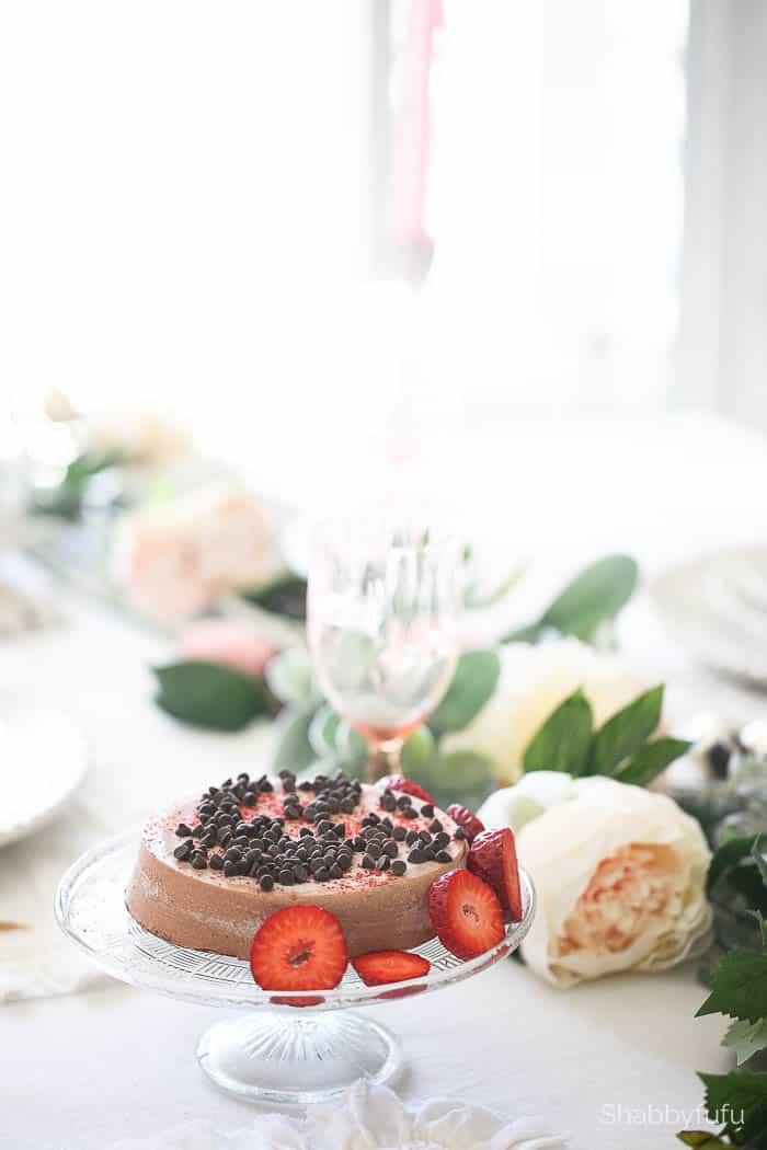 gluten free dairy free cheesecake shabbyfufu table setting tips