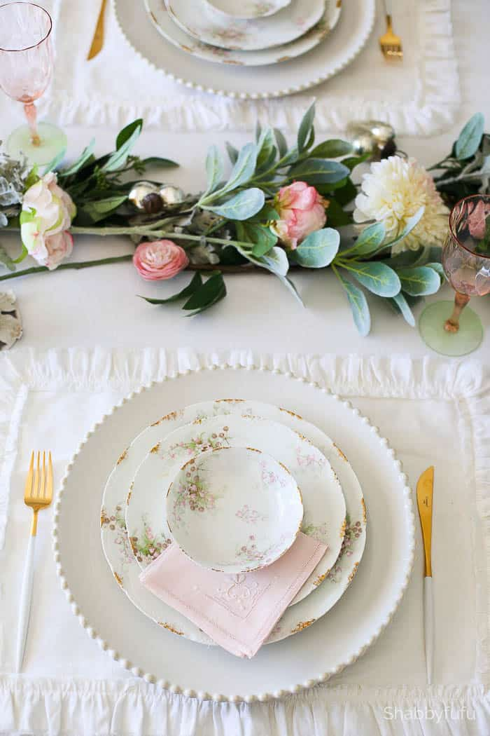 french country tablesetting wedding ideas