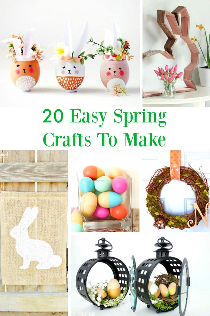 easy spring crafts diy