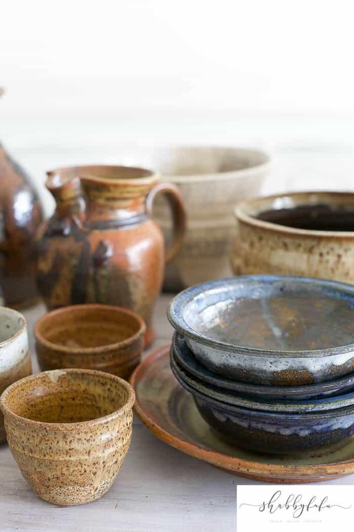 shabbyfufu wheel thrown pottery