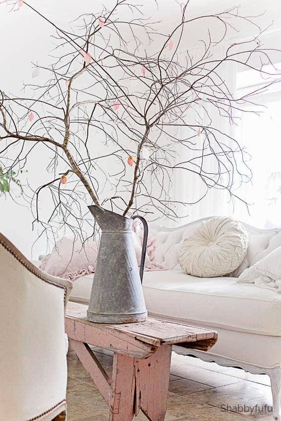 spring decor ideas branches