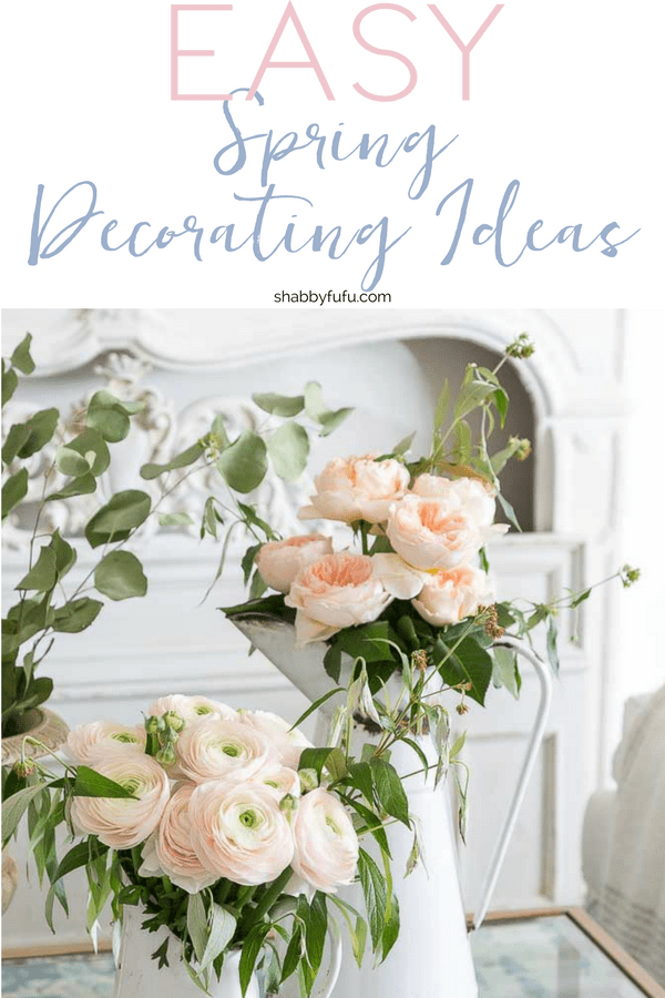 easy spring decorating ideas