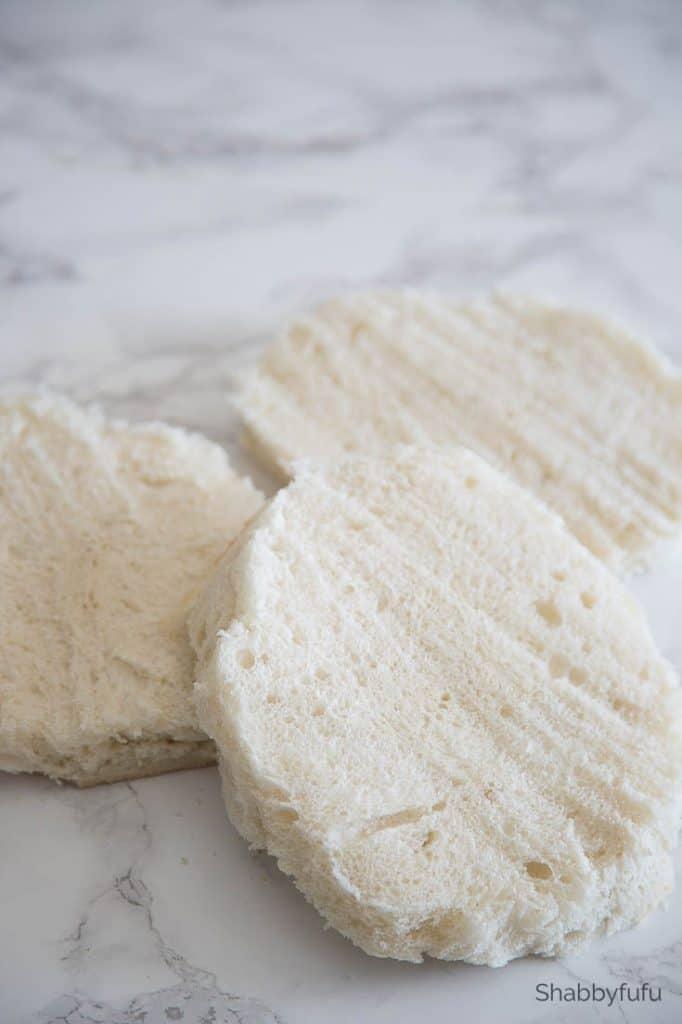3 layers tea sandwich cake