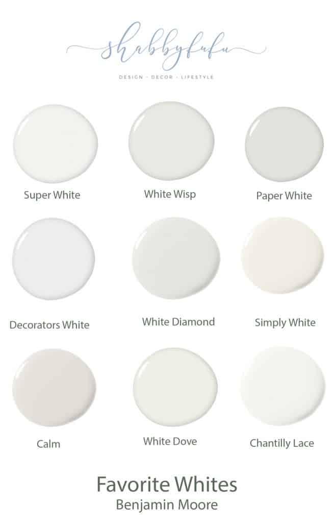 neutral paint shades white paint chart shabbyfufu