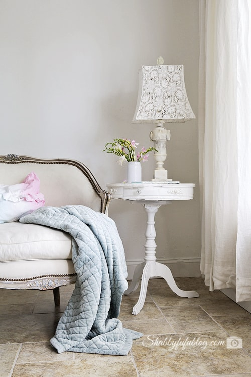 Decorating With Lace - Modern Home Style - shabbyfufu.com