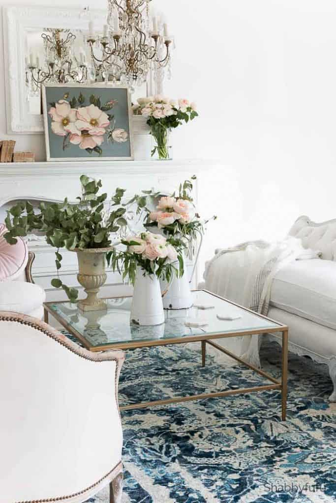Step By Step French Country Spring Decorating Ideas Shabbyfufu Com