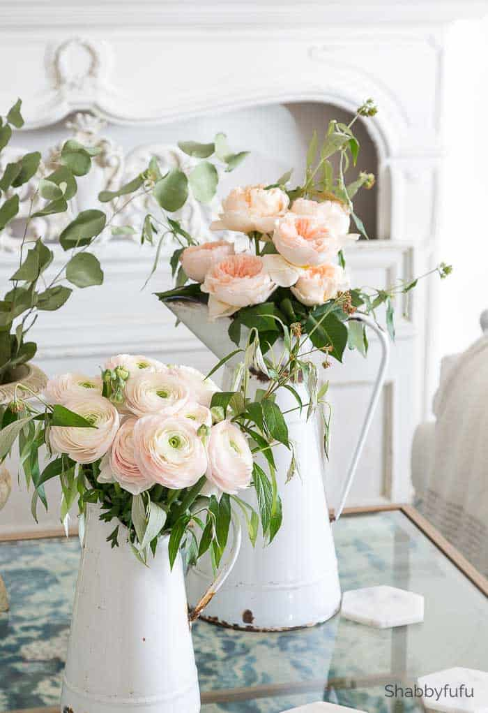 french country spring decorating ideas italian ranunculus