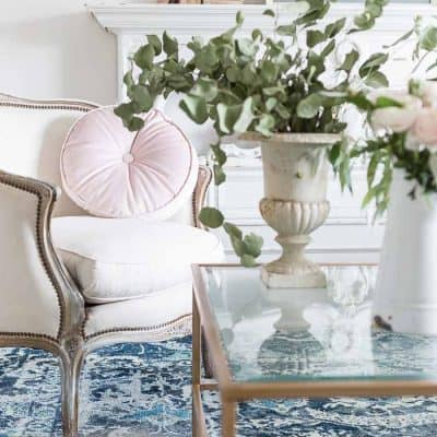 Step By Step – French Country Spring Decorating Ideas