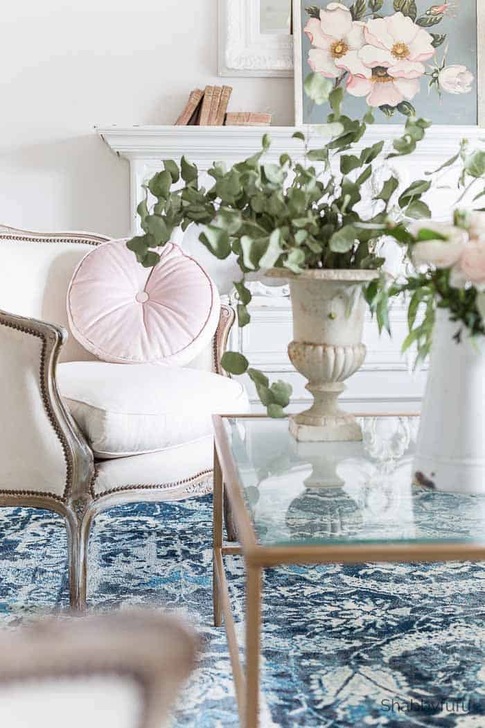 Step By Step - French Country Spring Decorating Ideas - shabbyfufu.com
