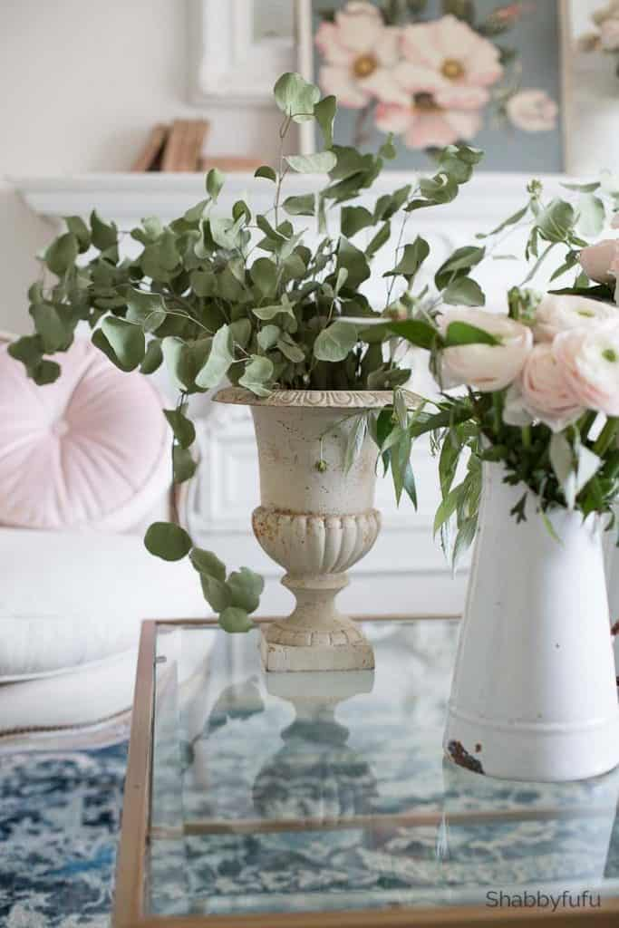 french country spring decorating ideas blush pink