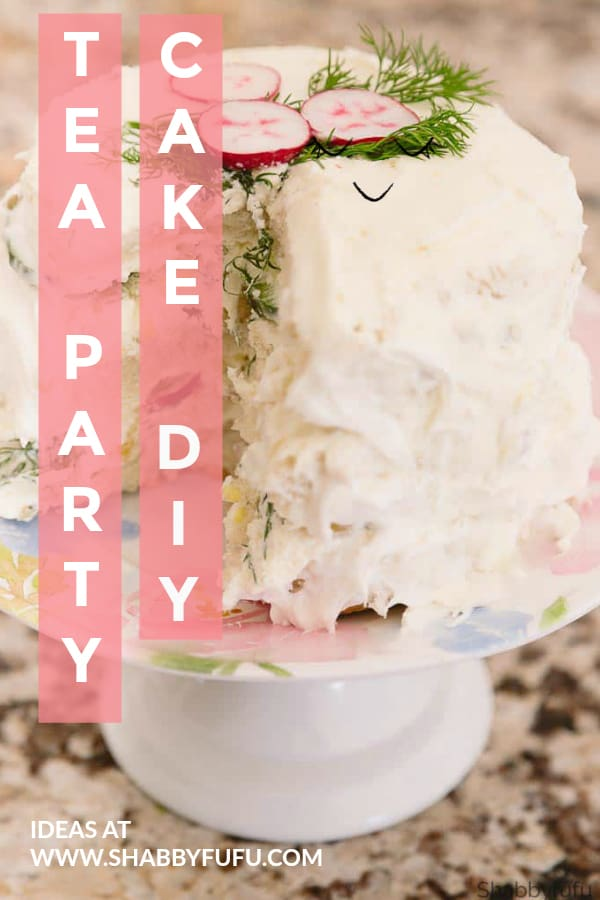 Tea Party Cake Ideas For Bridal Showers Baby Luncheons And Parties Find