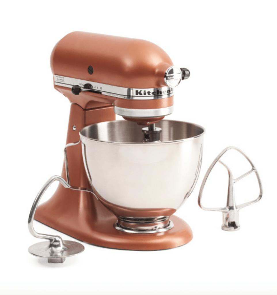 kitchenaid copper mixer