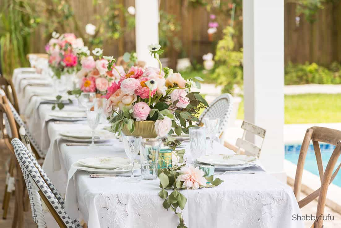 table setting decor beautiful affordable wedding reception