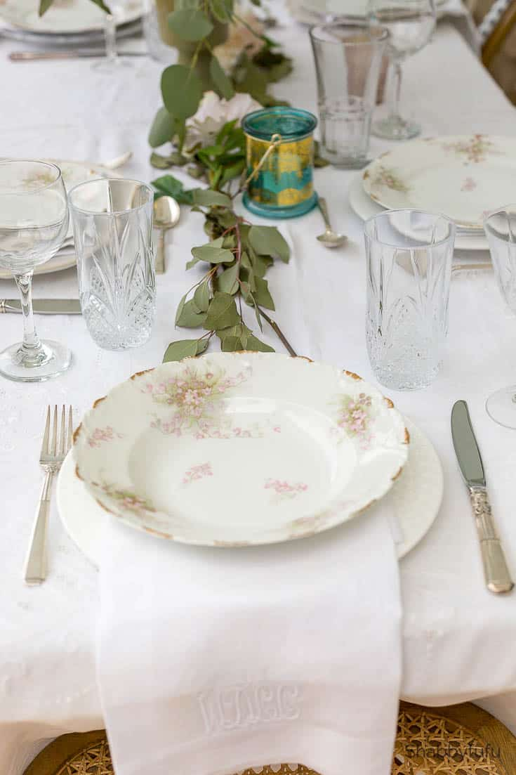 beautiful affordable wedding reception french dishes