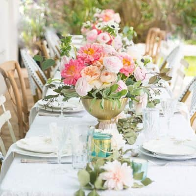 Beautiful Affordable Wedding Reception At Home