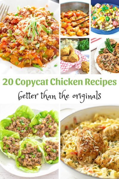 Copycat Chicken Recipes – Better Than The Originals
