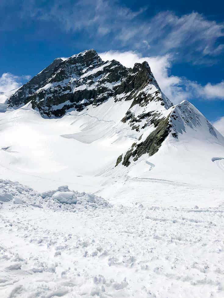Natural Beauty of Switzerland glaciers