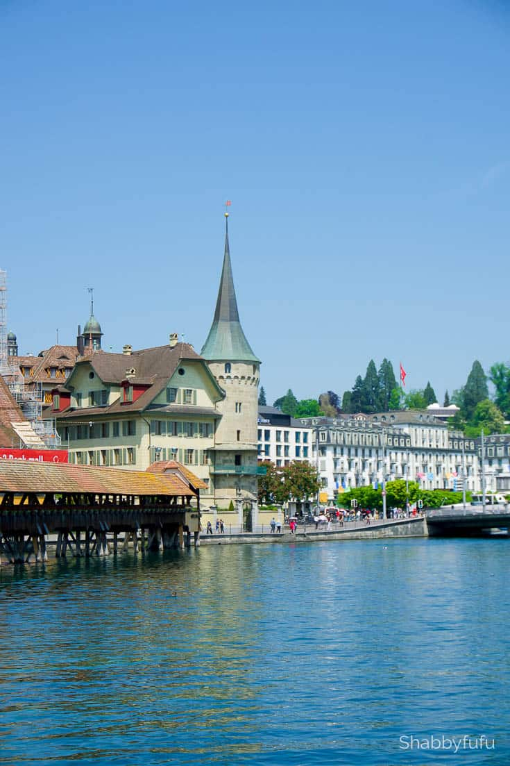 The natural beauty of Switzerland Lucerne