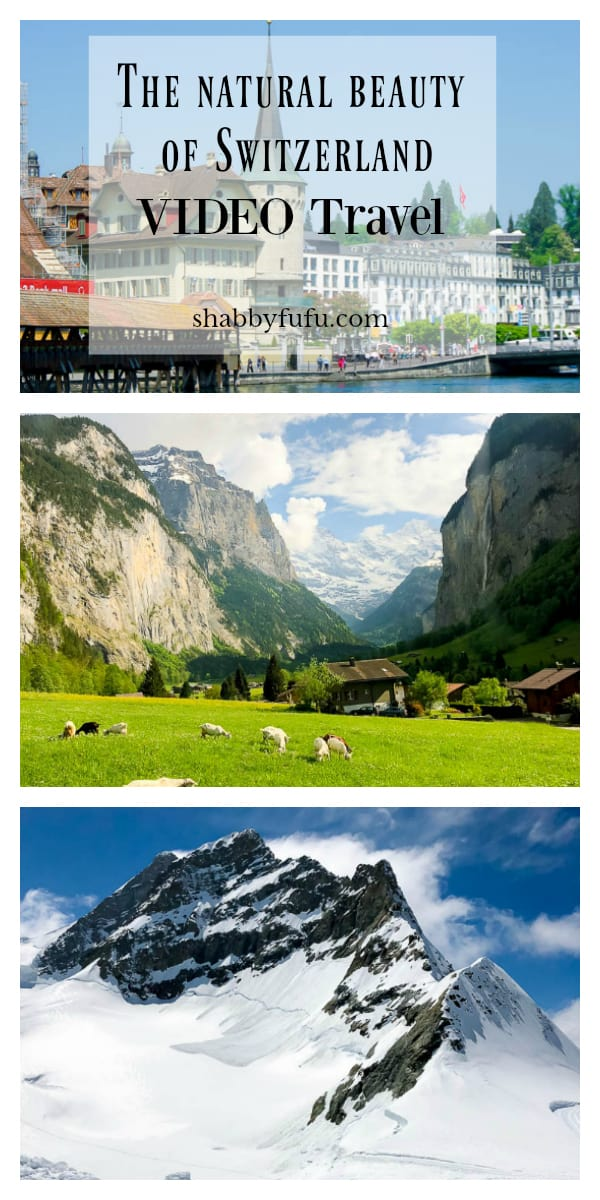 The natural beauty of Switzerland will take your breath away. See a travel video and tips for traveling within Switzerland and visits to the Alps, Zurich and Lucerne.