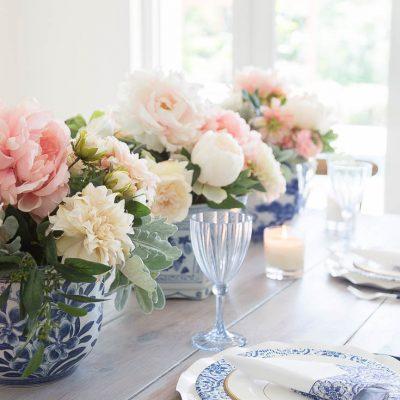 Fake Flower Arrangements -Make Them Look Real DIY