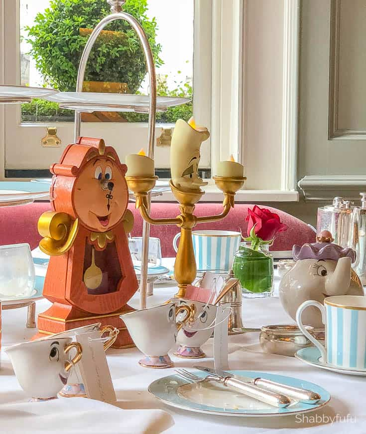 london luxury on a budget beauty and the beast afternoon tea