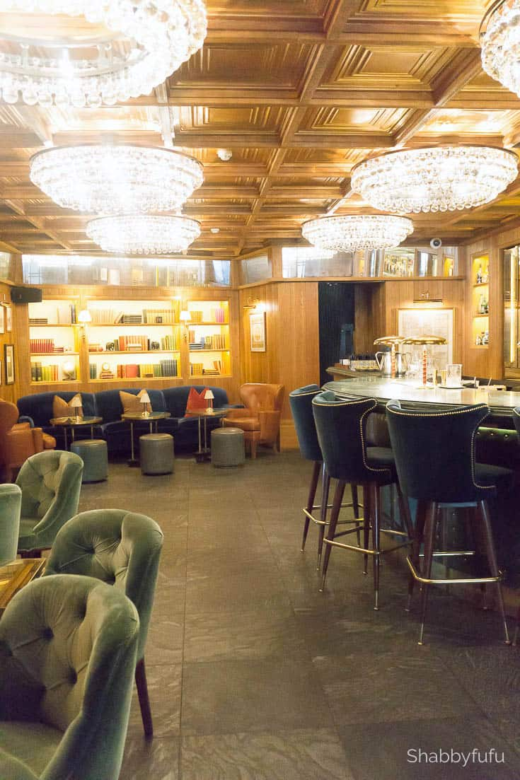 london luxury on a budget kensington hotel bar