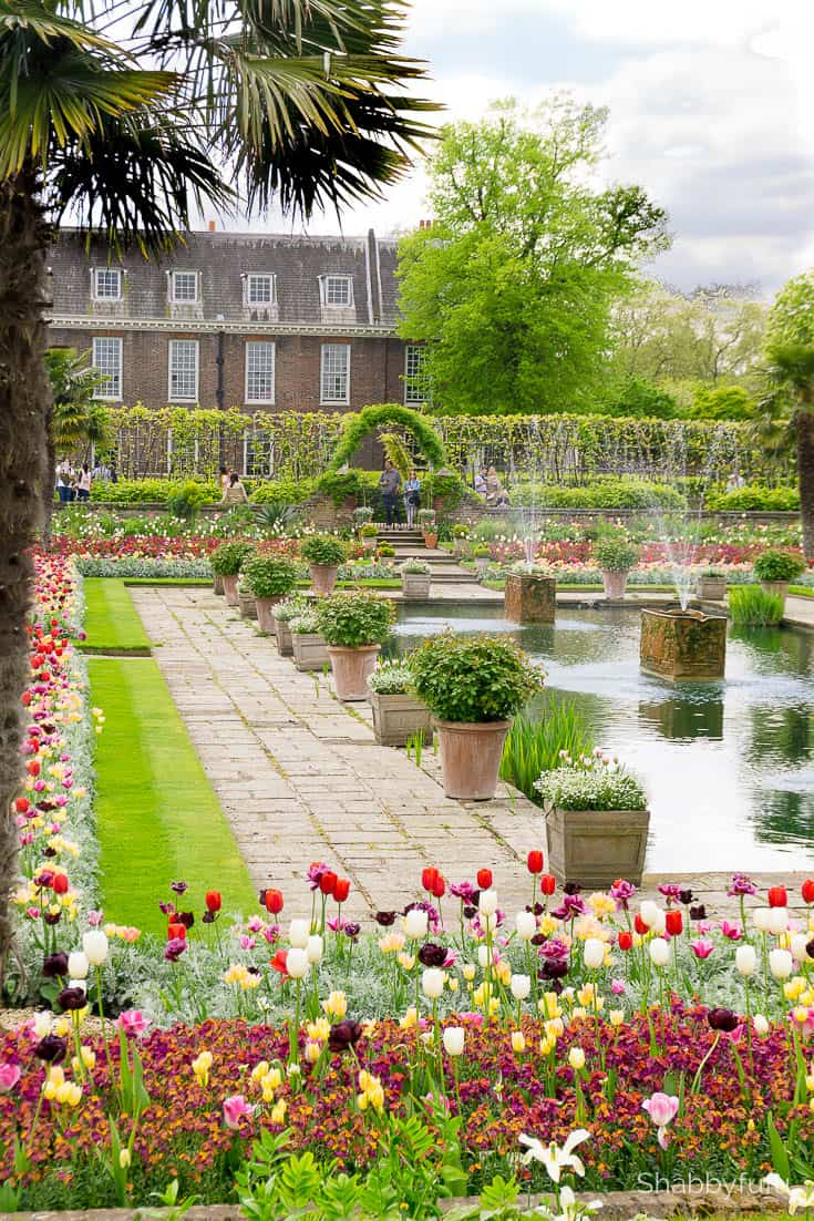 Kensington Gardens London luxury on a budget