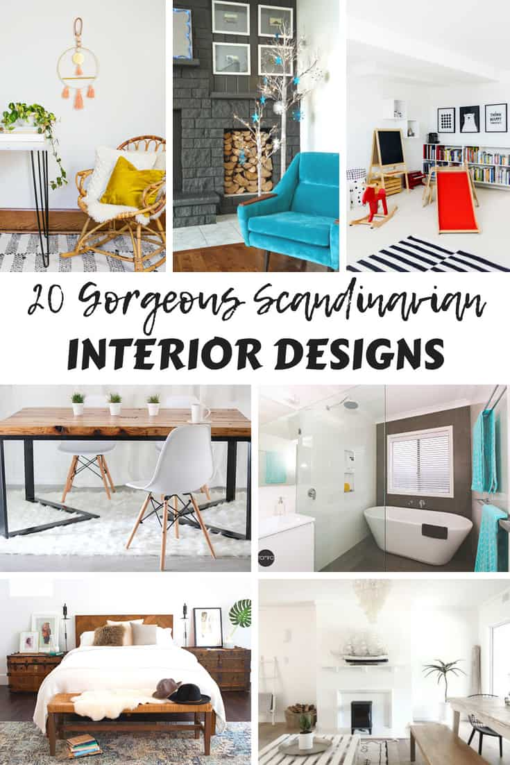 Wonderful Gorgeous Scandinavian Interior Designs