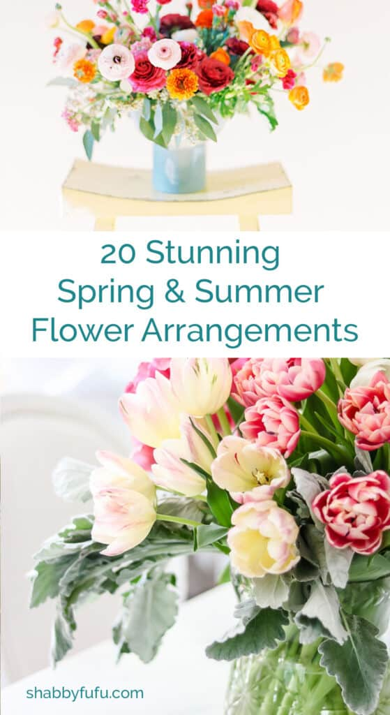 spring and summer flower arrangements