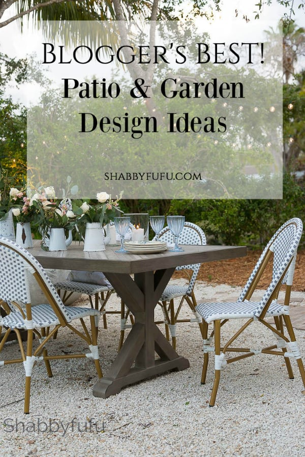 Thoughtful Patio And Garden Design Ideas shabbyfufu.com