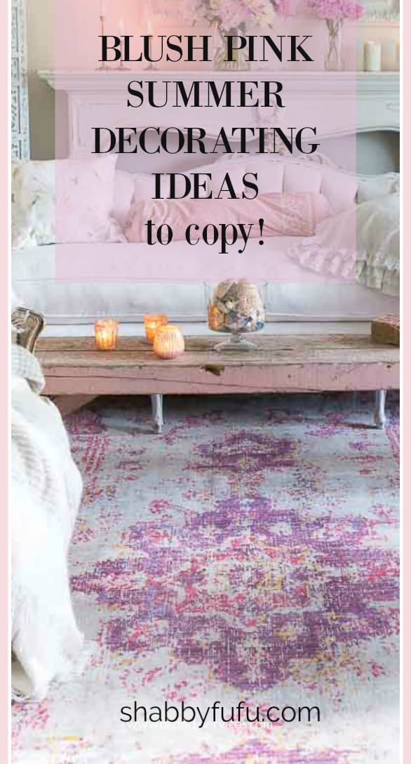 Blush pink decorating ideas to copy