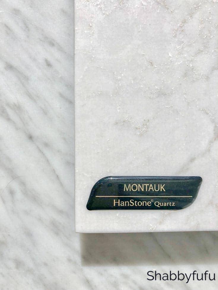 hanstone quartz Montauk