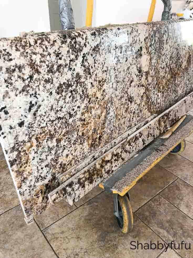 granite kitchen counter removal