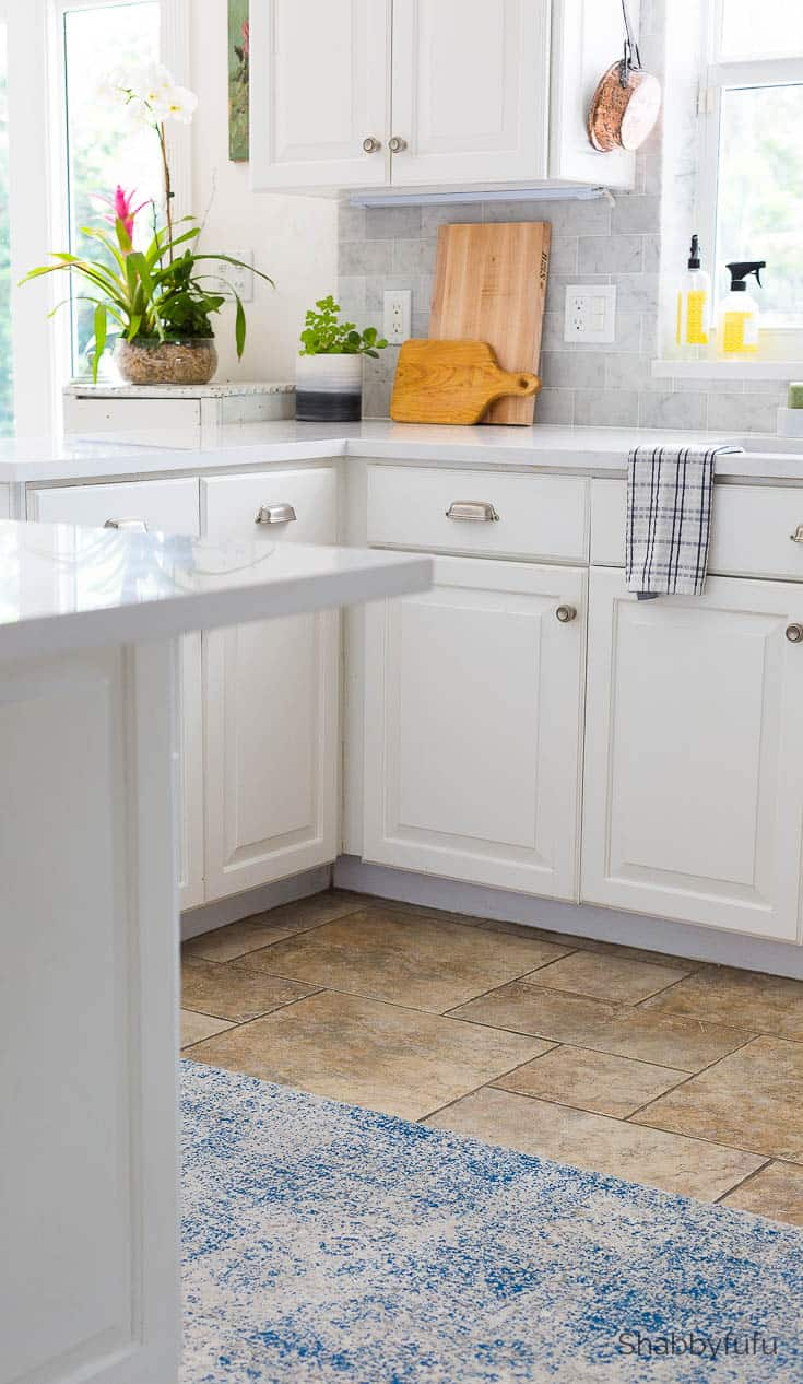 Carrara Marble Tile Backsplash