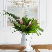 Modern Tropical Dining Room Decor – Update!