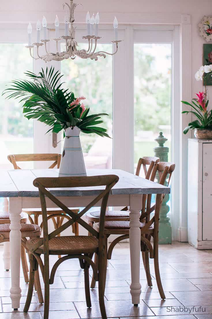modern tropical dining room decor